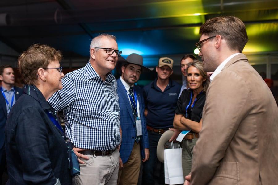 Beef Australia Beef Connections Prime Minister Scott Morrison AuctionsPlus (1)