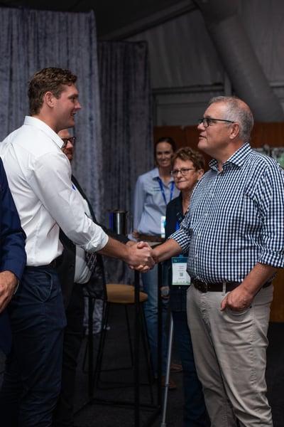 Beef Australia Beef Connections Prime Minister Scott Morrison AuctionsPlus (2)