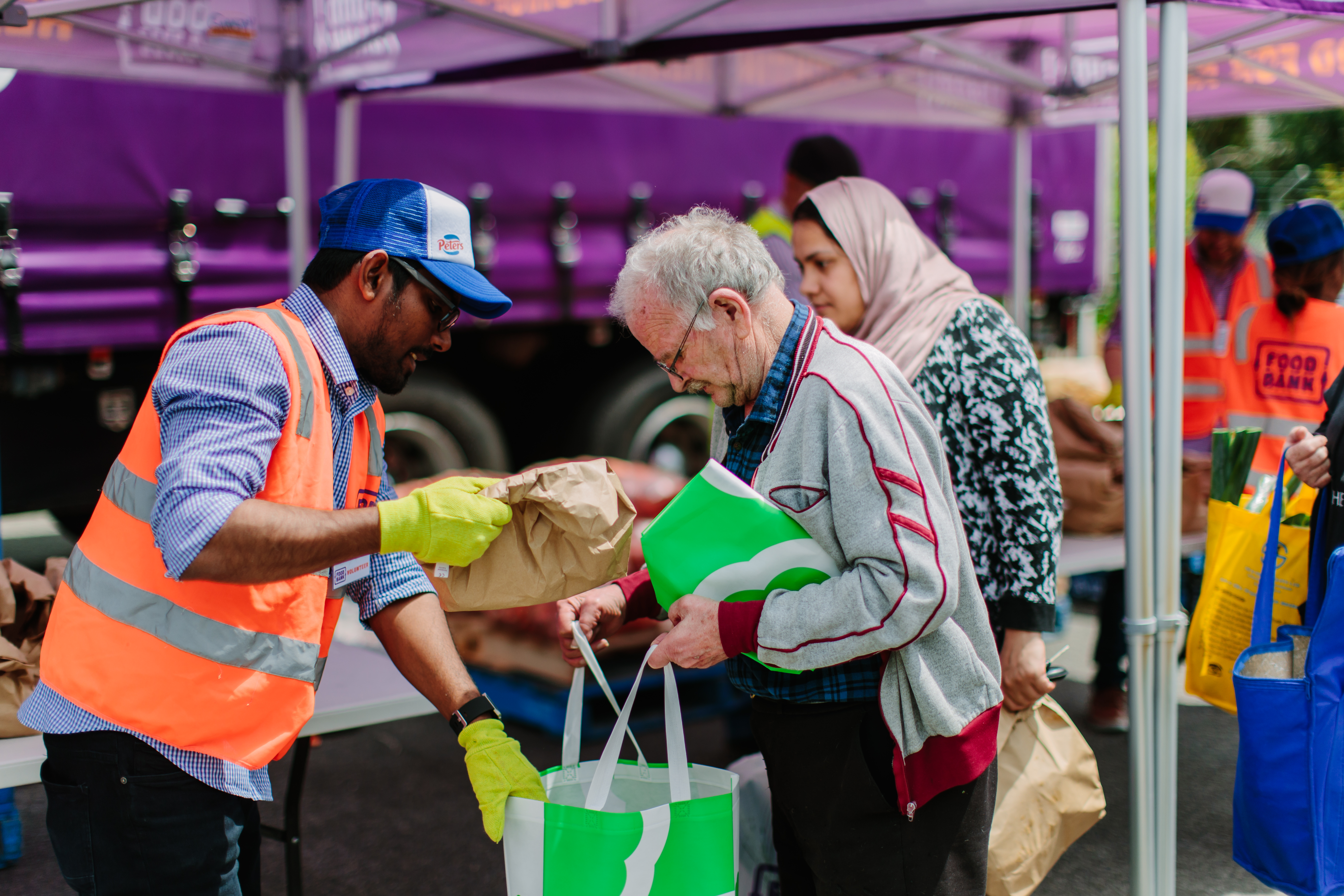 Food relief provides much-needed help to every day Aussies 3
