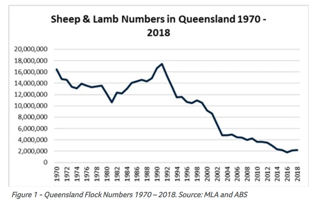 Queensland riding on the Sheep's back 1