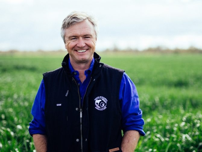 Sam Heagney on all things agriculture, resilience and why he's a fan of a good tweet